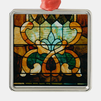 Stained Glass Vine Christmas Ornament