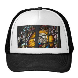 Stained Glass Virgin Mary and Jesus Mesh Hats