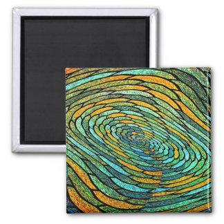 Stained Glass Vortex Magnet