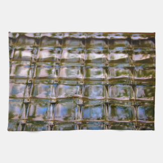 Stained Glass Window Blocks Kitchen Towels