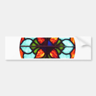Stained Glass Window Bumper Stickers
