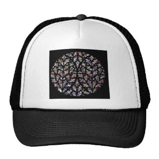 Stained glass window cap