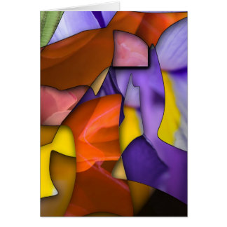 Stained Glass Window Card