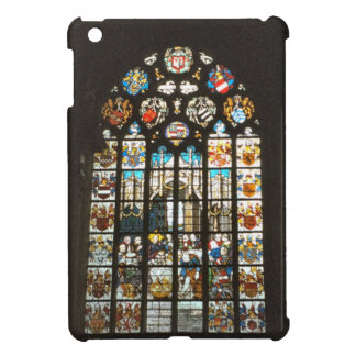 Stained glass window, church in north Holland iPad Mini Cover