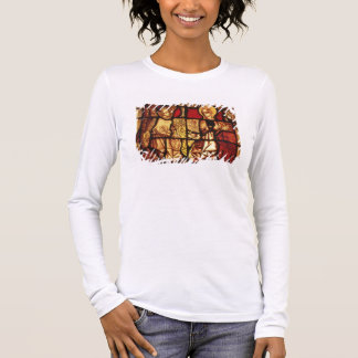 Stained glass window depicting the Annunciation, G Long Sleeve T-Shirt