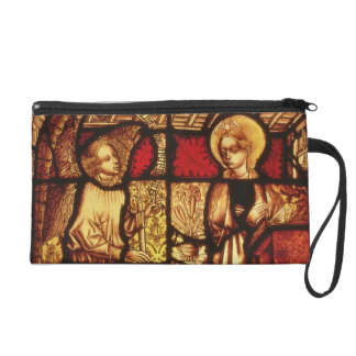 Stained glass window depicting the Annunciation, G Wristlet