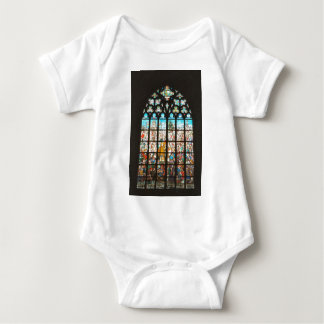 Stained glass window  from Holland Baby Bodysuit