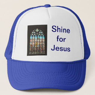 Stained glass window  from Holland Trucker Hat