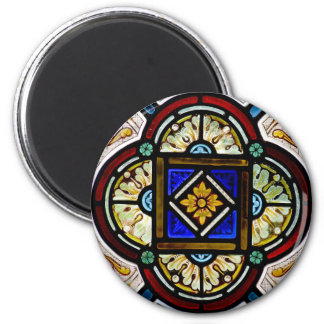 Stained Glass Window Magnet