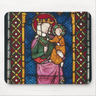 Stained Glass Window Mouse Mat