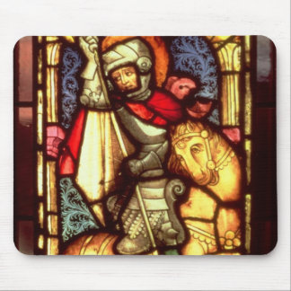 Stained Glass Window Mouse Pad
