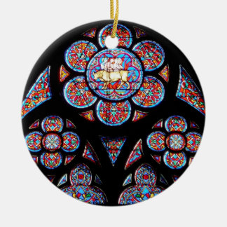 Stained Glass Window Ornament