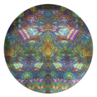 Stained Glass Window Party Plates