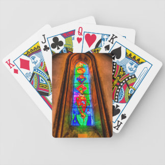 Stained Glass Window Poker Deck