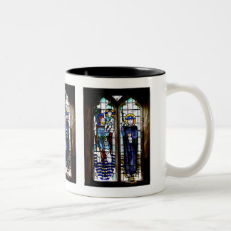 Stained Glass Window Two-Tone Coffee Mug