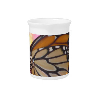 Stained Glass Wings Beverage Pitcher