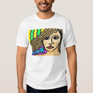 Stained Glass Woman Tees