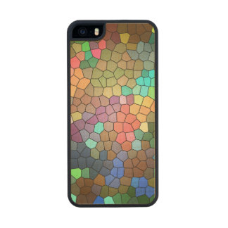 Stained Glass Carved® Maple iPhone 5 Case