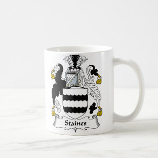 Staines Family Crest Coffee Mug