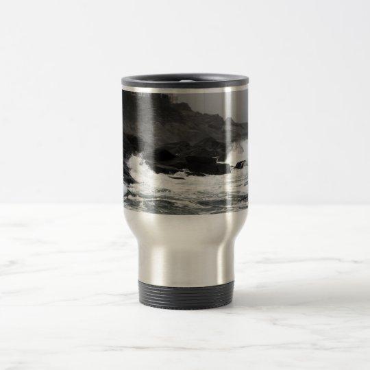 Stainless Steel 15 oz Travel/Commuter Mug