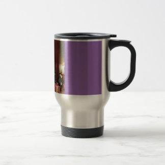 Stainless Steel 15 Oz Travel/Commuter Mug-Tree Stainless Steel Travel Mug