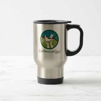 Stainless Steel 15 oz Travel Mug with logo