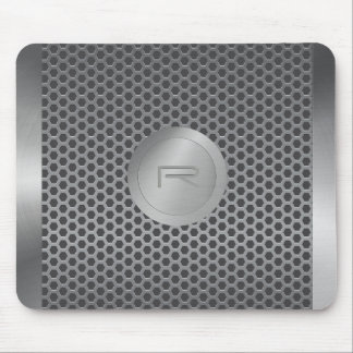 Stainless Steel and Metal Pattern MousePad