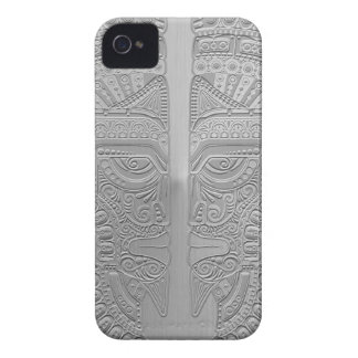 Stainless Steel Aztec Twins Blackberry Bold Covers