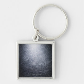 Stainless Steel Background Key Ring