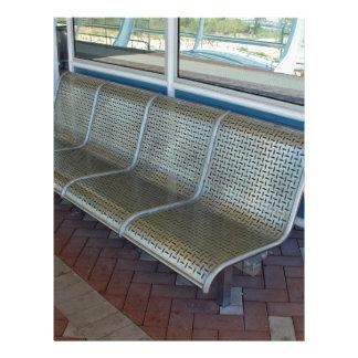 Stainless steel bench 21.5 cm x 28 cm flyer