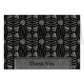Stainless steel greeting card