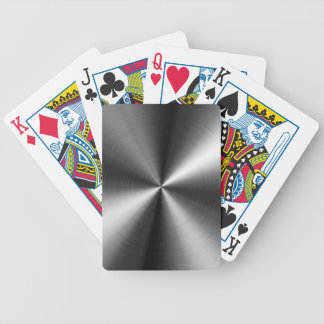 Stainless Steel Image Poker Deck