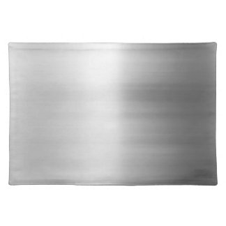 Stainless Steel Metal Look Placemat