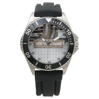 Stainless Steel  Personalized Steampunk Watch
