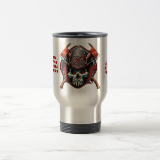 Stainless Steel Travel Mug Fire Rescue