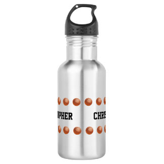 Stainless Steel Water Bottle Customized Basketball