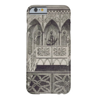 Staircase at Strawberry Hill, engraved by J. Newto Barely There iPhone 6 Case