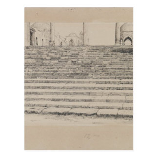 Staircase of the Court, Haram by James Tissot Postcard