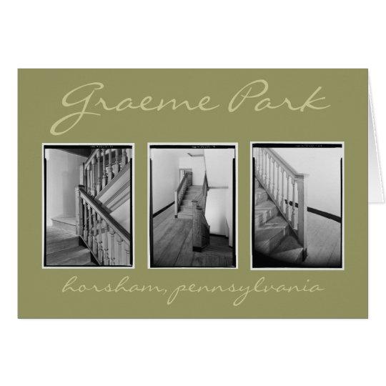 Stairhall at Graeme Park Card