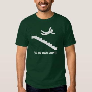 Stairs My Own Stunts Tee Shirt