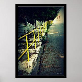stairs print