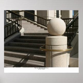Stairway, Nevada Supreme Court Poster