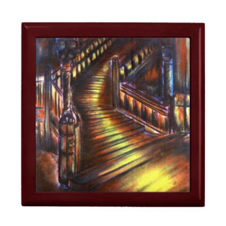 Stairway of Light Large Square Gift Box