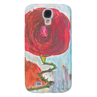 Stairway to a Rose Galaxy S4 Cases