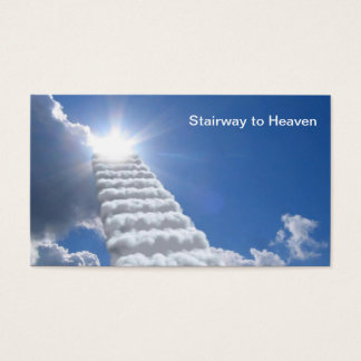Stairway to Heaven Business Card