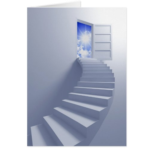 stairway to heaven greeting cards