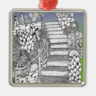 Stairway to Heaven Zentangle Ornaments