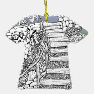 Stairway to Heaven Zentangle Christmas Ornaments