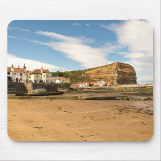 Staithes Harbour Mouse Mat