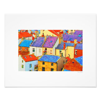 "Staithes Roofs 20""x16"" Photo Print"